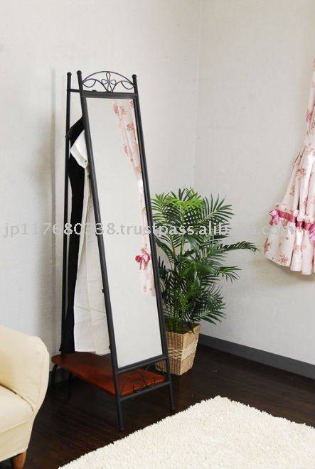 Wrought Iron Standing Mirror Iri 011 – Buy Wrought Iron Standing With Regard To Wrought Iron Standing Mirrors (#19 of 20)