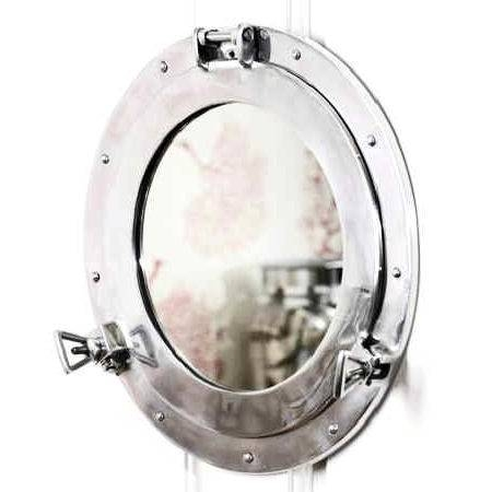 Yachtsofstuff Nautical Mirrors – Porthole, Distinctive For With Regard To Round Porthole Mirrors (View 27 of 30)