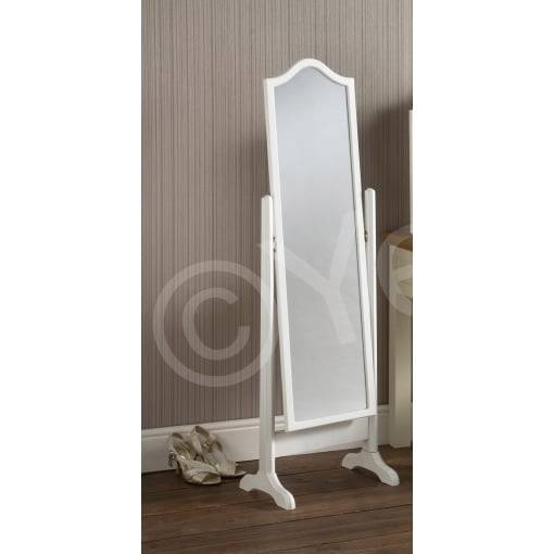 "Yearn Glass Yg23 Cheval Free Standing Mirror 56X16"" – Yearn Glass With Regard To Cheval Freestanding Mirrors (#30 of 30)"