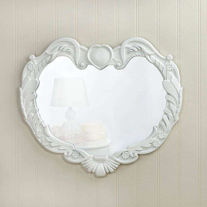Inspiration about Zingz & Thingz Angel Heart Wall Mirror & Reviews | Wayfair Throughout Heart Wall Mirrors (#7 of 20)
