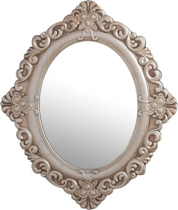 Zingz & Thingz Vintage Estate Wall Mirror & Reviews | Wayfair With Vintage Wall Mirrors (#20 of 20)