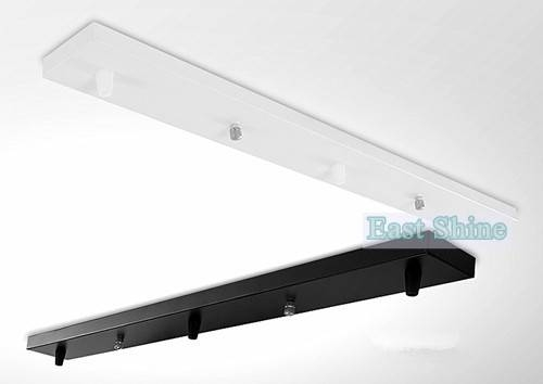 Inspiration about 1 Piece White/black/chrome Rectangle Ceiling Plate Ceiling Canopy Regarding Pendant Lights Base Plate (#15 of 15)