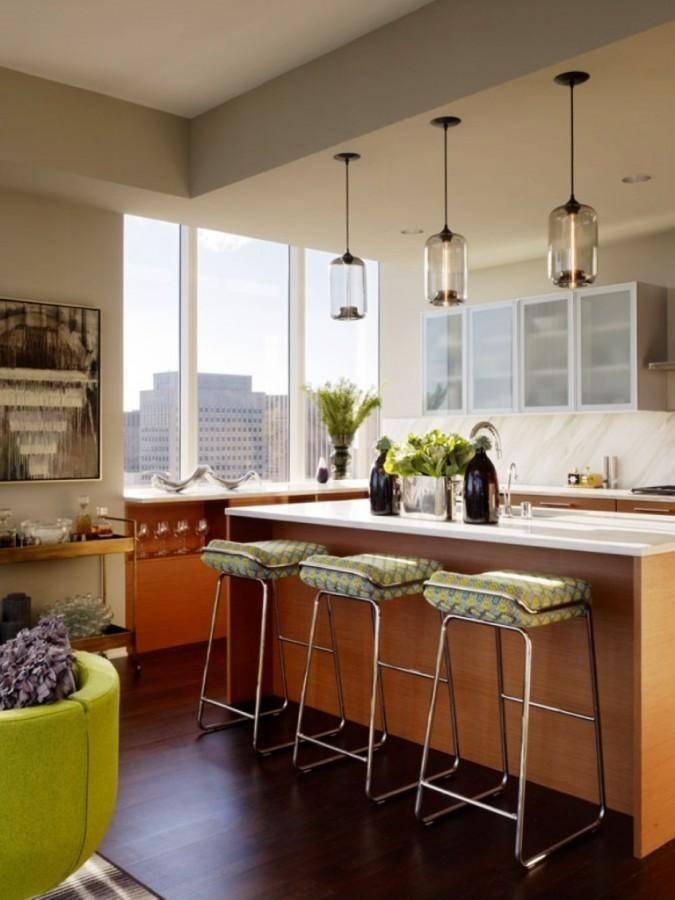 10 Amazing Kitchen Pendant Lights Over Kitchen Island – Rilane Regarding Green Kitchen Pendant Lights (#1 of 15)