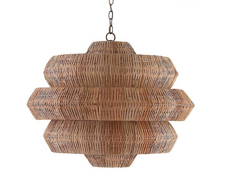 Inspiration about 10 Easy Pieces: Airy Woven Pendant Lights – Gardenista Intended For Rattan Pendant Lighting (#14 of 15)