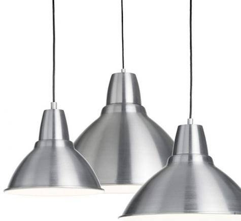10 Easy Pieces: Silver Pendant Lights – Remodelista With Regard To Ikea Lighting Pendants (#1 of 15)