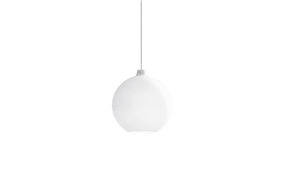 Inspiration about 10 Easy Pieces: White Globe Pendant Lights – Remodelista Intended For Milk Glass Australia Pendant Lights (#7 of 15)