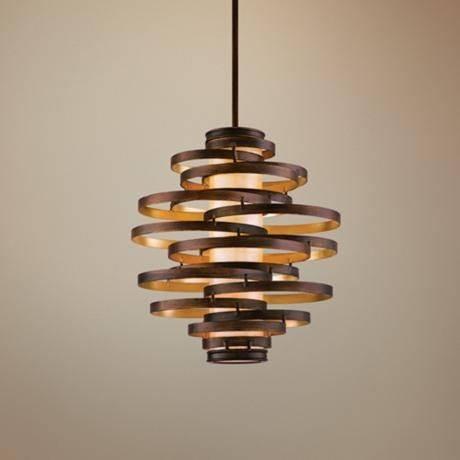 Popular Photo of Corbett Vertigo Medium Pendant Lights