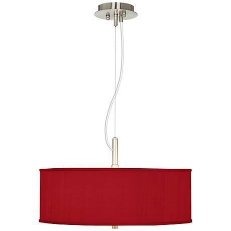 Inspiration about 104 Best Red Lighting And Home Décor Images On Pinterest | Bulbs Intended For Red Drum Pendants (#13 of 15)