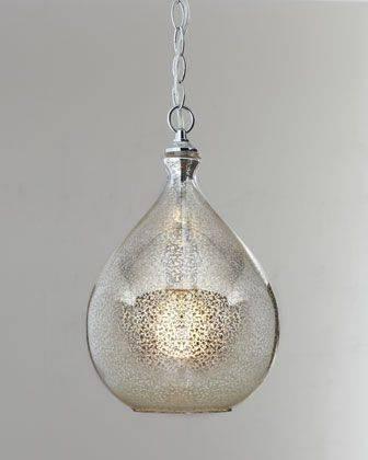 105 Best Sea Glass Lighting Images On Pinterest | Glass Pendants Intended For Artisan Glass Pendant Lights (#1 of 15)