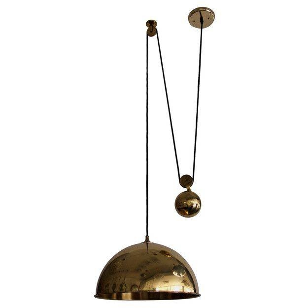 Popular Photo of Counterweight Pendant Lights