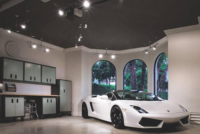 11 Spectacular Examples Of Modern Garage Lighting | Pegasus Throughout Luxury Track Lighting (View 14 of 15)