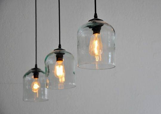 111 Best Really Cool Light Fixtures Images On Pinterest | Lighting For Glass Jug Lights Fixtures (#1 of 15)