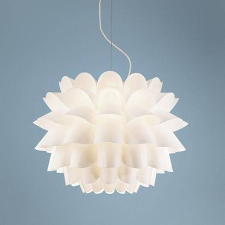 Inspiration about 112 Best Light Fixtures Images On Pinterest | Light Fixtures Intended For White Flower Pendant Lights (#10 of 15)