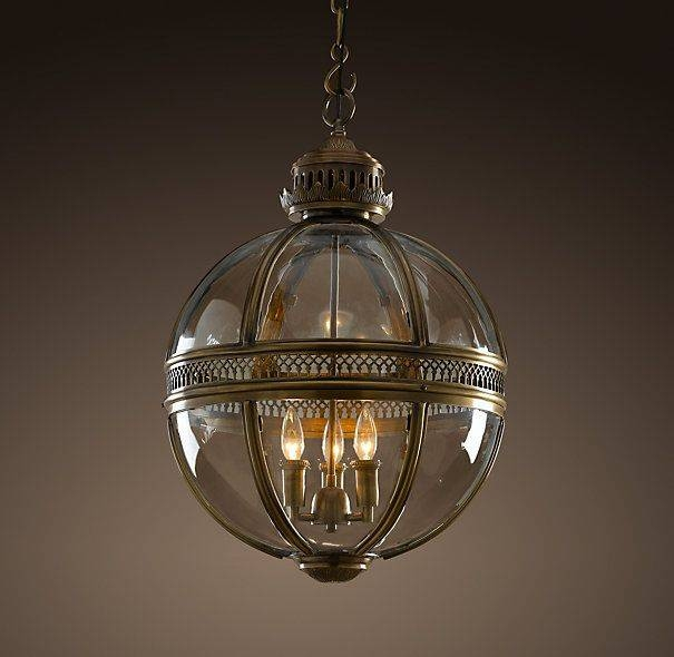 Inspiration about 113 Best Banded Globe Pendant Light Fixtures Images On Pinterest For Victorian Hotel Pendant Lights (#10 of 15)