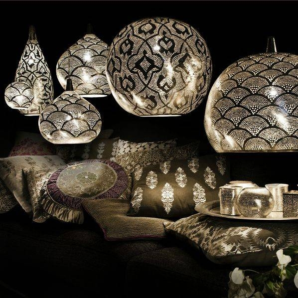 Inspiration about 116 Best Lighting Images On Pinterest   Exterior Lighting, Home Inside Punched Metal Pendant Lights (#5 of 15)