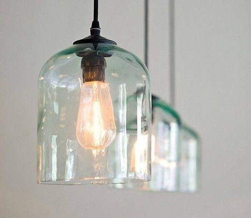 Inspiration about 123 Best Lighting Images On Pinterest | Chandeliers, Kitchen Inside Recycled Glass Pendants (#6 of 15)