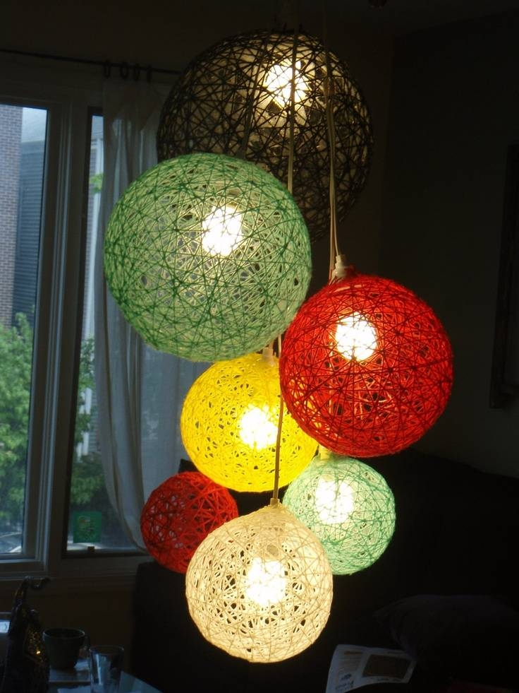 Inspiration about 13 Best Decor Images On Pinterest | Architecture, Ball Lights And Within Diy Yarn Lights (#5 of 15)