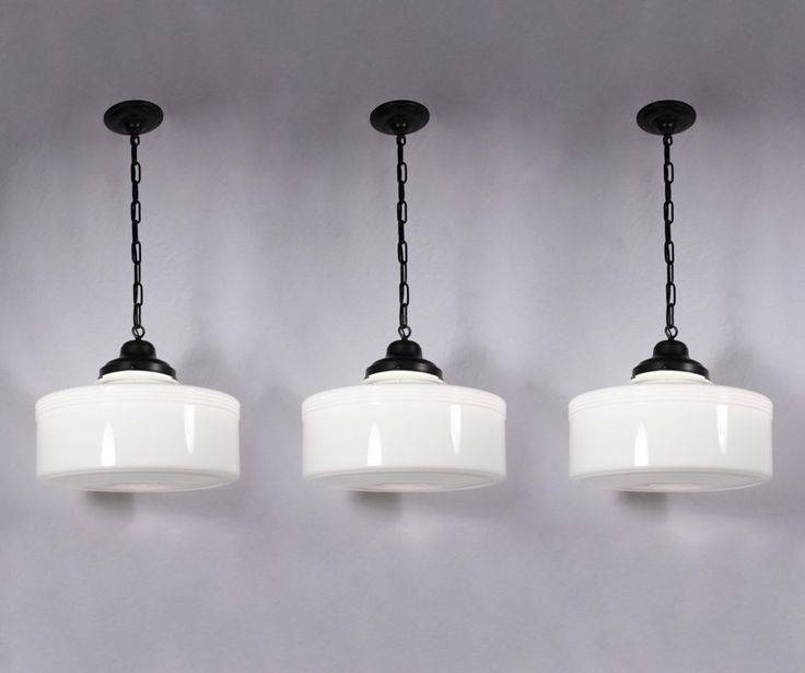 13 Best Lighting Images On Pinterest | Pendant Lights, Lighting Intended For Milk Glass Pendants (#1 of 15)