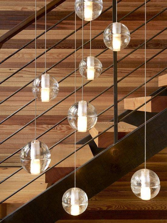 Inspiration about 13 Best Stair Lights Images On Pinterest | Stairs, Lighting Design For Stairwell Lighting Pendants (#1 of 15)