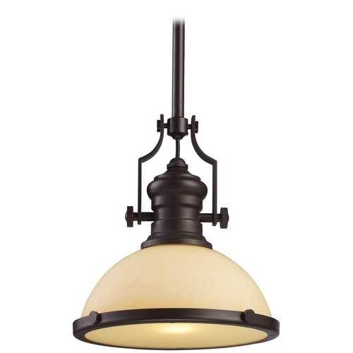 13 Inch Oiled Bronze Vintage Pendant Light | 66134 1 | Destination Inside Bronze Pendants (#1 of 15)