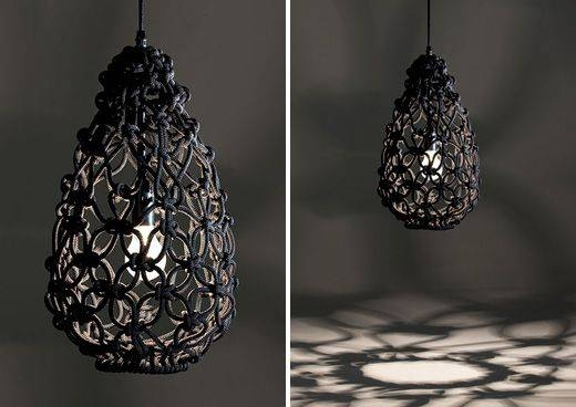 136 Best The Lighting Images On Pinterest | Pendant Lights Within Macrame Pendant Lights (#2 of 15)