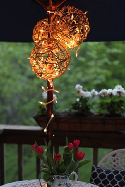Inspiration about 14 Diy Yarn Lanterns You Can Make | Guide Patterns Intended For Diy Yarn Lights (#13 of 15)
