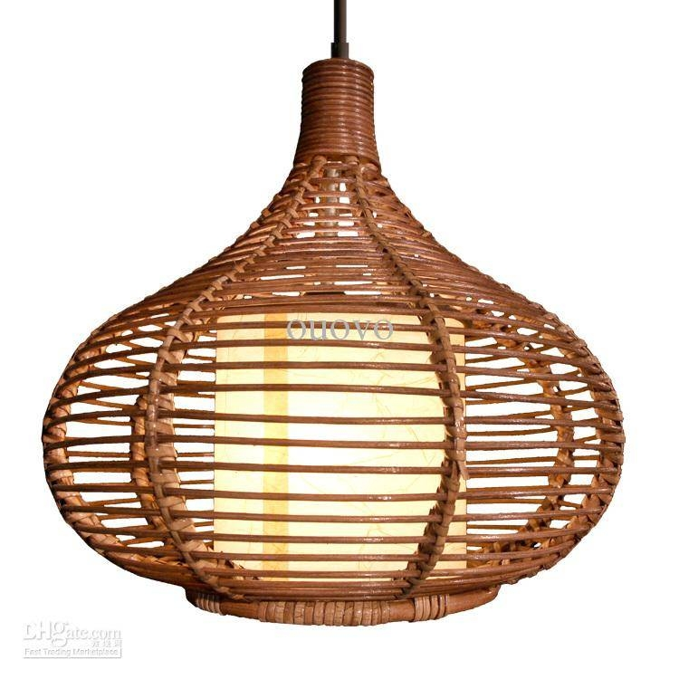 Inspiration about 14 Rattan Pendant Light New Modern Study/dining Room Pendant Lamp In Rattan Pendant Lighting (#5 of 15)