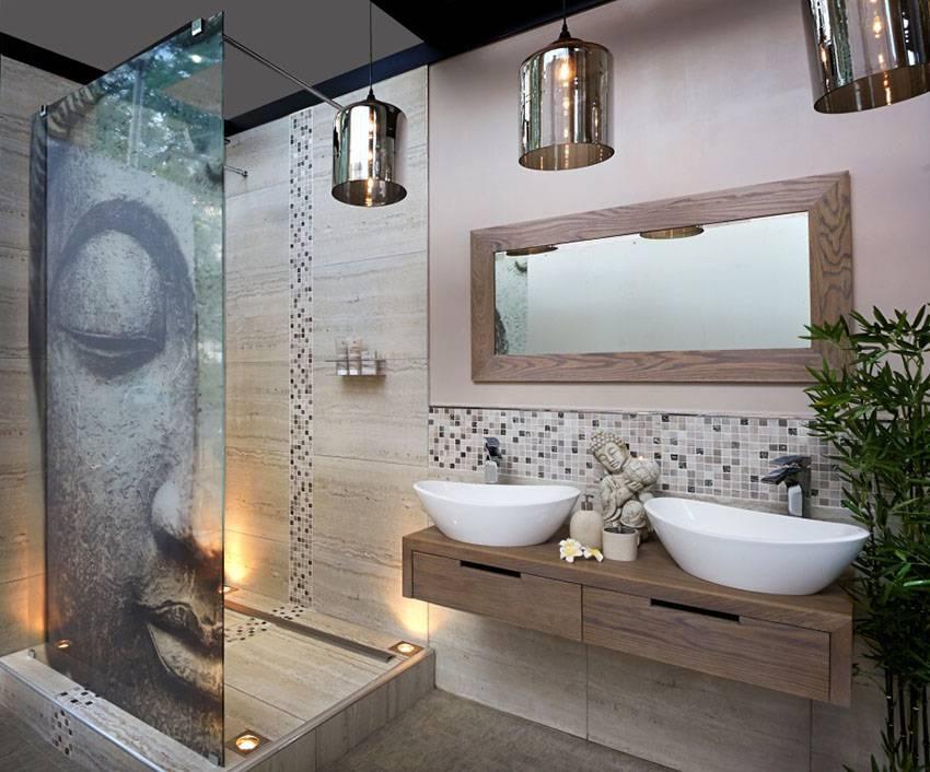 15 Bathroom Pendant Lighting Design Ideas – Designing Idea Regarding Asian Style Pendant Lights (#1 of 15)