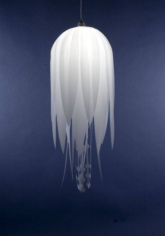15 Best Jellyfish Lamp Images On Pinterest | Jelly Fish, For The Within Jellyfish Inspired Pendant Lights (View 1 of 15)