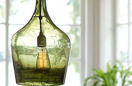15 Best Pendant Lighting Images On Pinterest Regarding Glass Jug Inside Glass Jug Lights Fixtures (View 15 of 15)