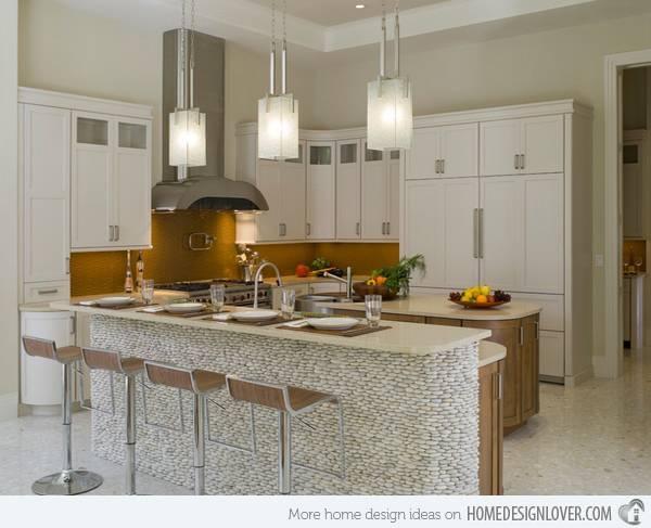 15 Distinct Kitchen Island Lighting Ideas | Home Design Lover In Kitchen Lighting Melbourne (#1 of 15)