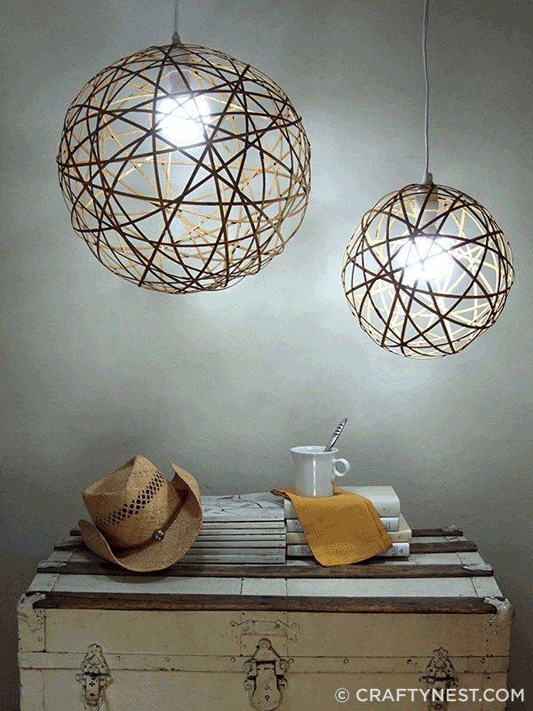 Inspiration about 151 Best Diy Lighting Images On Pinterest | Lights, Diy Lamps And With Regard To Build Your Own Pendant Lights (#4 of 15)