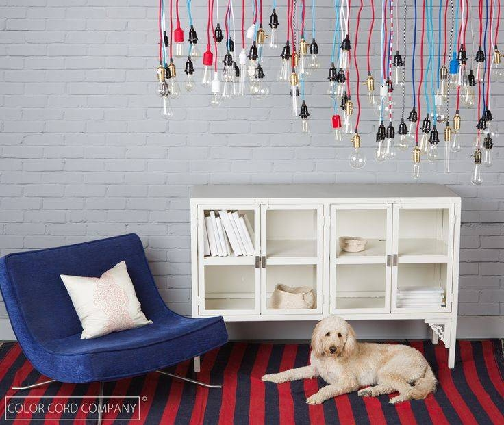 153 Best Color Cord Company Images On Pinterest | Plugs, Cords And Inside Coloured Cord Pendant Lights (#1 of 15)