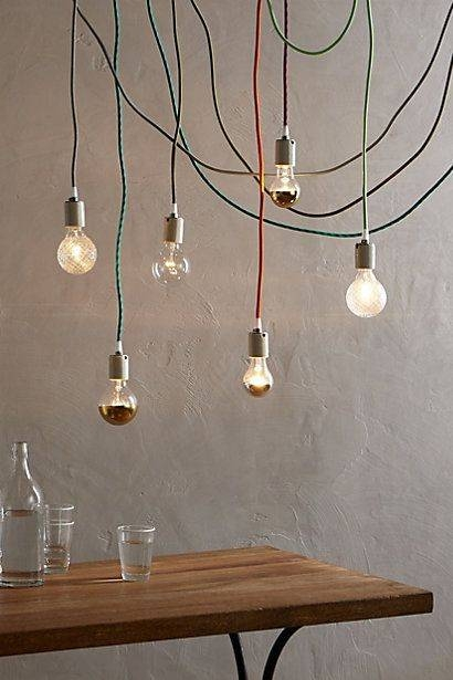 153 Best Color Cord Company Images On Pinterest | Plugs, Cords And Pertaining To Coloured Cord Pendant Lights (#2 of 15)
