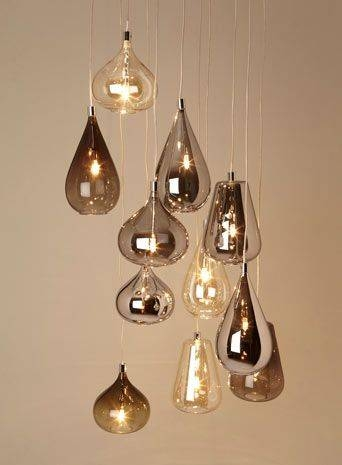 Inspiration about 162 Best Lighting Images On Pinterest | Moroccan Lanterns Regarding Cluster Glass Pendant Lights Fixtures (#11 of 15)