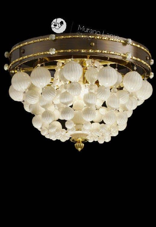 Inspiration about 164 Best Murano Glass Lights Images On Pinterest | Murano Glass For Venetian Glass Ceiling Lights (#15 of 15)