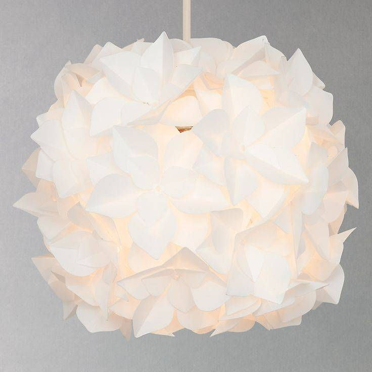 Inspiration about 17 Best Lights Images On Pinterest | Ceiling Lights, Lamp Shades Pertaining To White Flower Pendant Lights (#2 of 15)