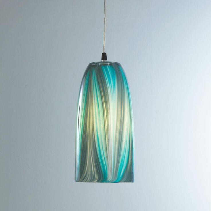 Inspiration about 170 Best Turquoise,teal & Aqua Images On Pinterest | Glass Regarding Turquoise Blue Glass Pendant Lights (#5 of 15)