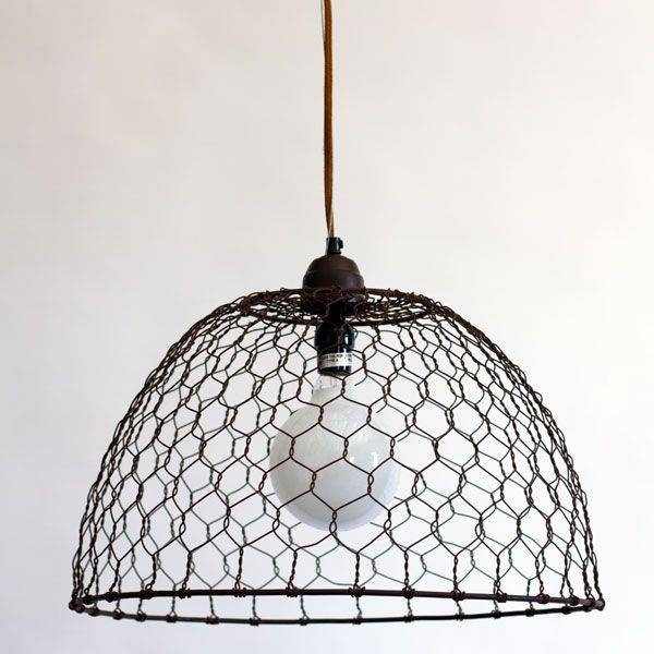 18 Best Pendant Lamps Images On Pinterest | Pendant Lights Regarding Chicken Wire Pendant Lights (#1 of 15)