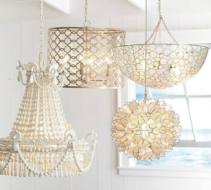 Inspiration about 19 Best Lighting Images On Pinterest | Pendant Lights, Dream Pertaining To White Flower Pendant Lights (#5 of 15)
