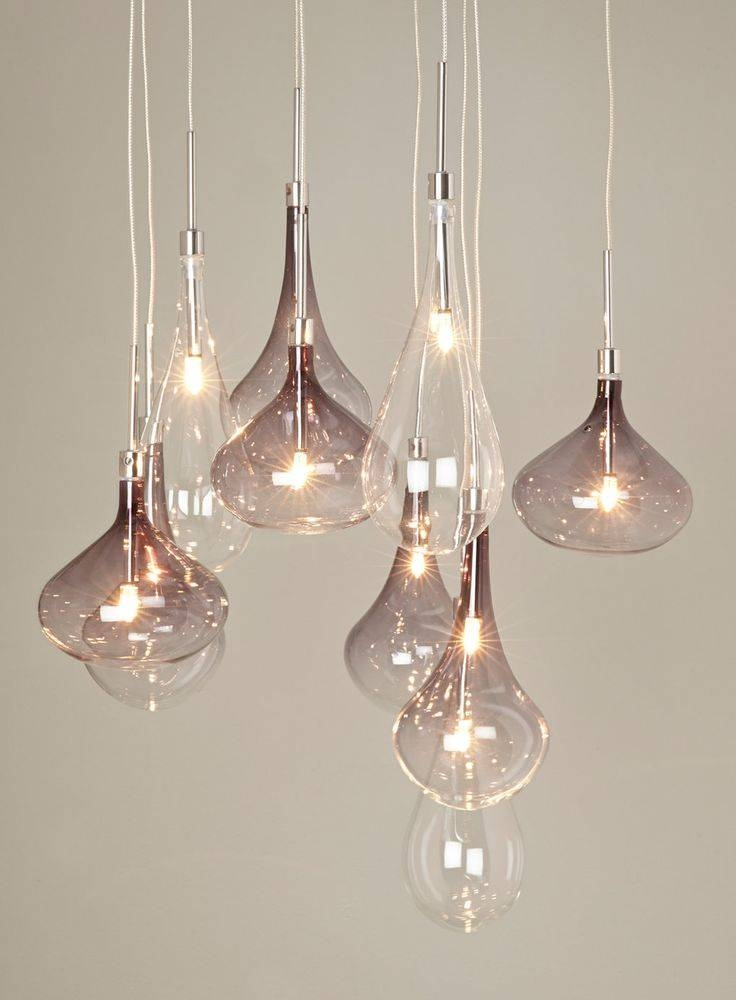 Inspiration about 19 Home Lighting Ideas | Kitchen Industrial, Diy Ideas And Pertaining To Cluster Glass Pendant Lights Fixtures (#14 of 15)
