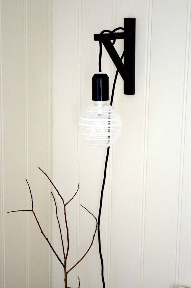 Inspiration about 219 Best Ikea Hacks Images On Pinterest | Home, Ikea Hacks And At Home Inside Ikea Plug In Pendant Lights (#5 of 15)