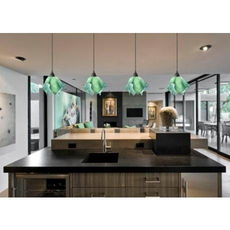 22 Best Green Pendant Lights Images On Pinterest | Pendant Lights In Green Kitchen Pendant Lights (#2 of 15)