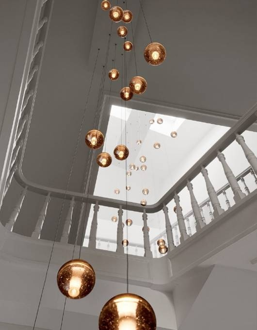 Inspiration about 23 Throughout Stairwell Lighting Pendants (#9 of 15)