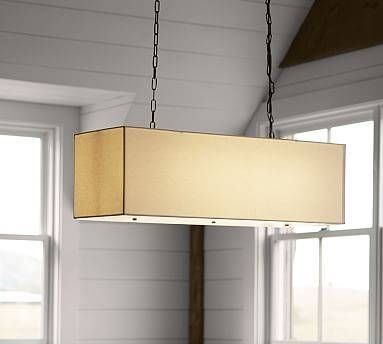 Inspiration about 232 Best Lighting Images On Pinterest | Light Fixtures, Lighting Pertaining To Rectangular Drum Pendant Lights (#1 of 15)