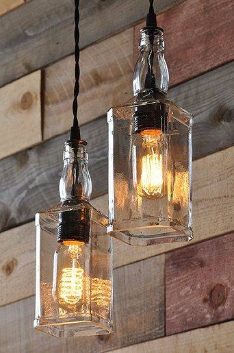Inspiration about 233 Best Very Cool Diy Light Fixtures! Images On Pinterest With Regard To Homemade Pendant Lights (#10 of 15)