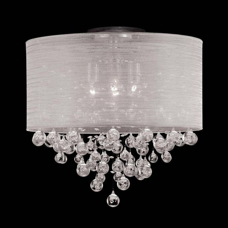 Inspiration about 24 Best Light Fixtures Images On Pinterest | Chandelier Lighting For White Drum Lights Fixtures (#13 of 15)