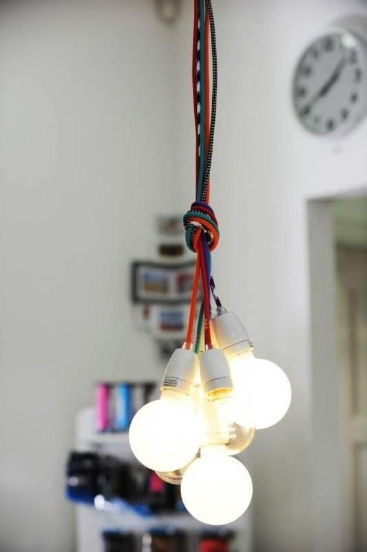 24 Best Pendant Lighting Images On Pinterest | Pendant Lighting Inside Coloured Cord Pendant Lights (#3 of 15)