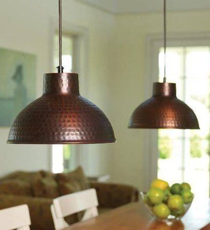 Inspiration about 25 Best Lighting Images On Pinterest | Edison Bulbs, Chandeliers Pertaining To Hammered Copper Pendants (#12 of 15)