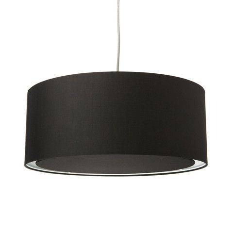 25 Best Pendant Light Shades – Fabric Images On Pinterest | Light Throughout Black And White Drum Pendant Lights (View 10 of 15)